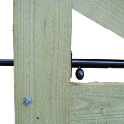 Spring Loaded Gate Latch (Board Gate)
