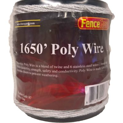FenceGard 6 Strand Poly Wire (1650')