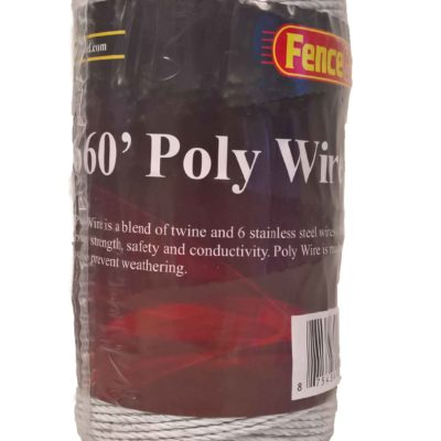 FenceGard 6 Strand Poly Wire (660')