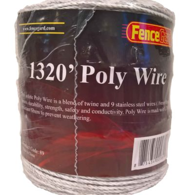 FenceGard 9 Strand Poly Wire (1320')