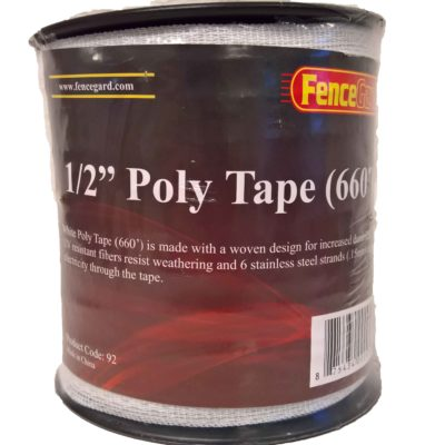 "FenceGard 1/2"" Poly Tape (660')"