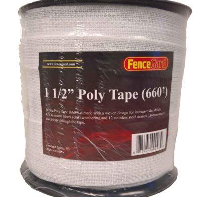 "FenceGard 1 1/2"" Poly Tape (660')"