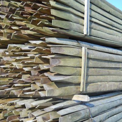 11' Treated Poplar Split Rail