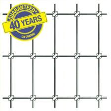 """60"""" High Tensile Horseman 40 Non-Climb Horse Fence Black"""