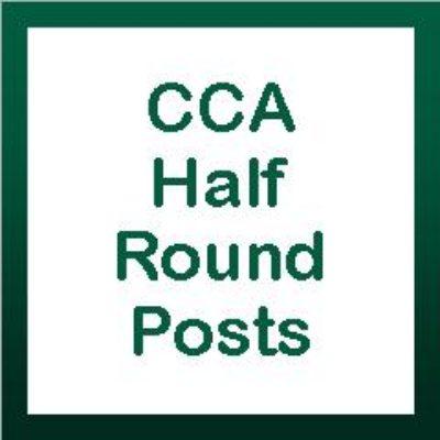 CCA Half Round Posts
