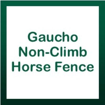 Gaucho Non-Climb Horse Fence