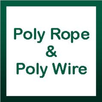 Poly Rope & Poly Wire