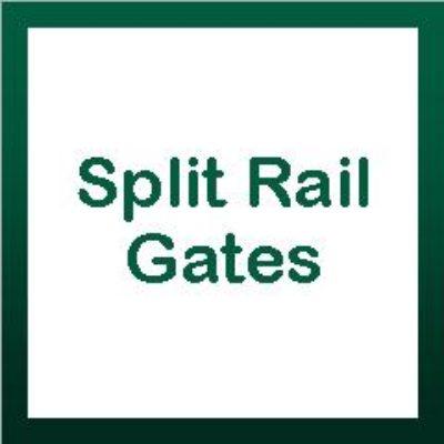 Split Rail Gates