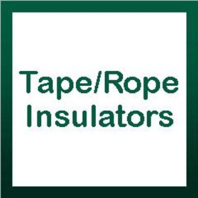Tape & Rope Insulators