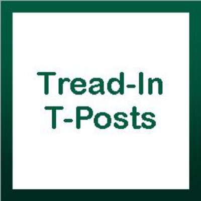Tread-In/T-Posts