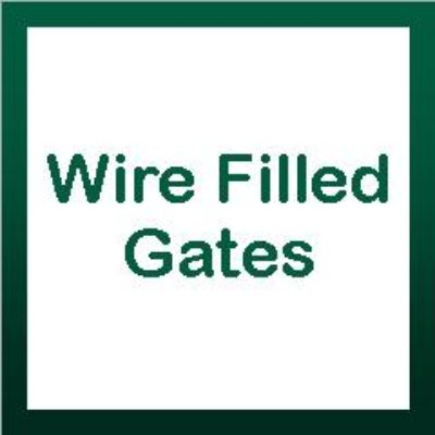 Wire Filled Gates