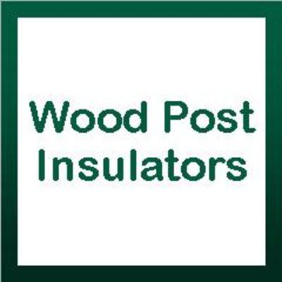 Wood Post Insulators