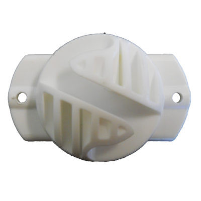 Turtle Back Claw Insulator (White)