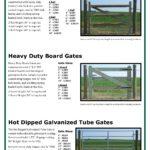 Heavy Duty 2x4 Wire Filled Gates