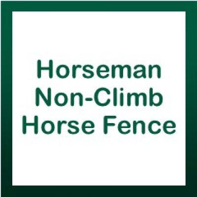 Horseman Non-Climb Horse Fence