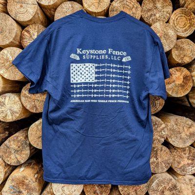 Fence Knot Flag Shirt (Size 2XL)