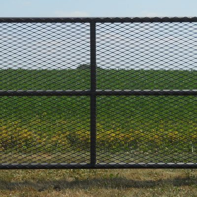 Heavy Duty Expanded Metal Gates